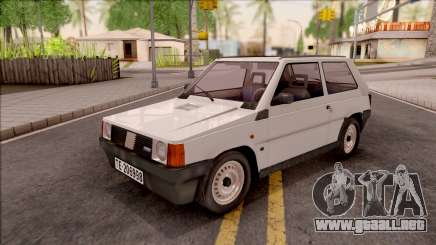 Fiat Panda Supernova IVF para GTA San Andreas