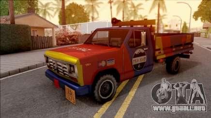Ford F-400 Wason CSAGAZ (Gas Truck) para GTA San Andreas