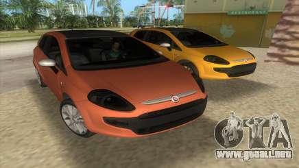2010 Fiat Punto EVO Sport para GTA Vice City