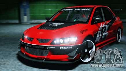 2006 Mitsubishi Lancer Evolution IX 2.0 para GTA 5