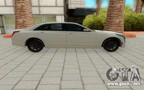 Cadillac CT6 para GTA San Andreas left