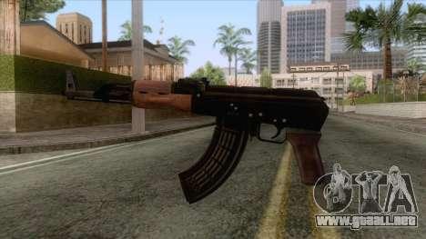 AK-47 With no Stock v1 para GTA San Andreas