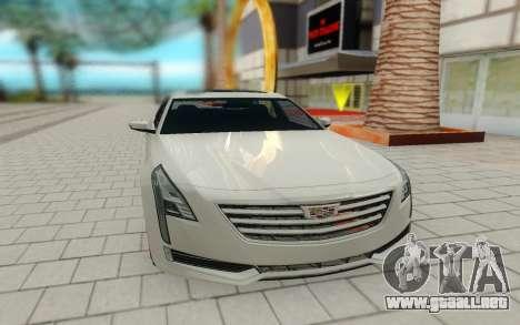 Cadillac CT6 para la visión correcta GTA San Andreas