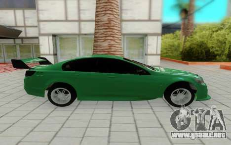Holden Commodore para GTA San Andreas left