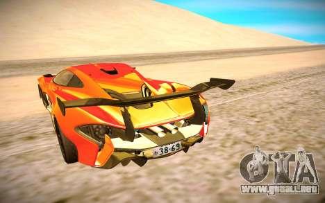 McLaren P1 GTR para la visión correcta GTA San Andreas