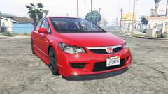Honda Civic Type-R (FD2) 2008 [add-on] para GTA 5