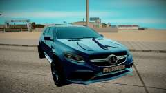 Mercedes-Benz Gl 63 AMG para GTA San Andreas