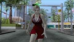 Jill Dress Skin para GTA San Andreas