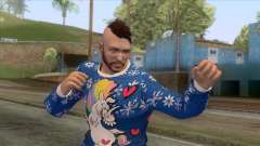 Christmas GTA Online Skin para GTA San Andreas