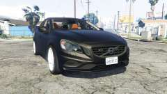 Volvo S60 unmarked police [replace] para GTA 5
