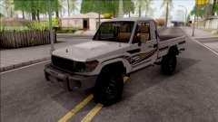 Toyota Land Cruiser J79 para GTA San Andreas