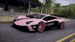 Lamborghini Aventador v1 para GTA San Andreas