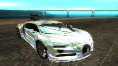 Bugatti Chiron белый para GTA San Andreas