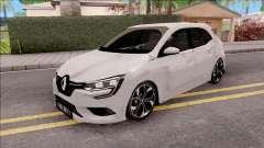 Renault Megane 4 Hatchback Low Poly para GTA San Andreas
