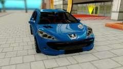 Peugeot 207 para GTA San Andreas