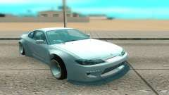 Nissan Silvia S15 белый para GTA San Andreas