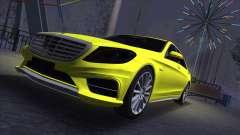 Mercedes-Benz S-class W222 para GTA San Andreas