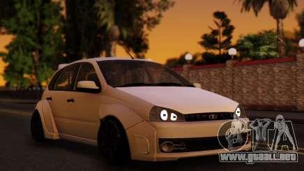 Lada Kalina Sport Tuning белый para GTA San Andreas