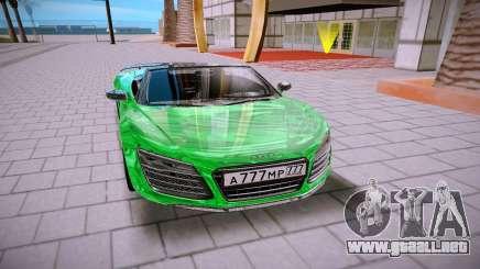Audi R8 Spyder 5 2 V10 Plus para GTA San Andreas