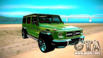 Mercedes AMG G63 Crazy Color Edition para GTA San Andreas