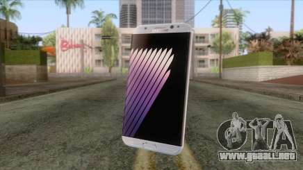 Samsung Galaxy Note 7 White para GTA San Andreas