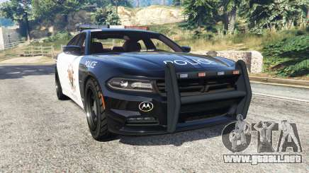Dodge Charger RT 2015 LSPD [replace] para GTA 5