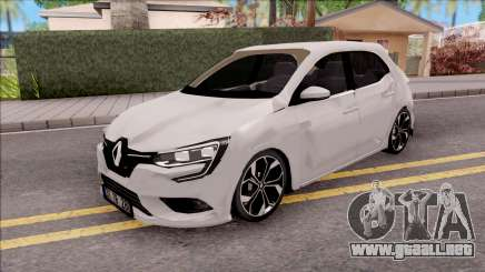 Renault Megane 4 Hatchback Low Poly para GTA San Andreas