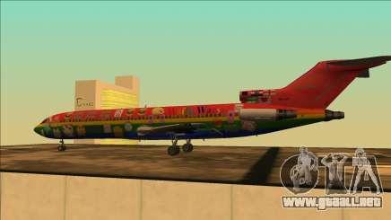 Boeing 727-200 Waifu Guerras De Edición para GTA San Andreas