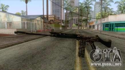 FN-FAL Camouflage para GTA San Andreas
