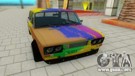 VAZ 2103 Hippie para GTA San Andreas