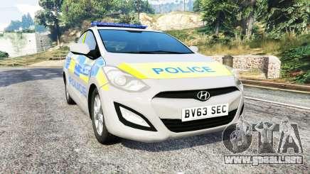 Hyundai i30 (GD) metropolitan police [replace] para GTA 5