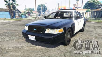 Ford Crown Victoria Los Santos Police [replace] para GTA 5