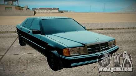 Mercedes-Benz W201 E190 para GTA San Andreas