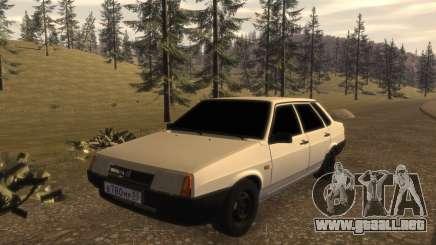 VAZ 21099 DE LA FIB para GTA 4