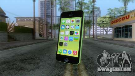 iPhone 5C Green para GTA San Andreas
