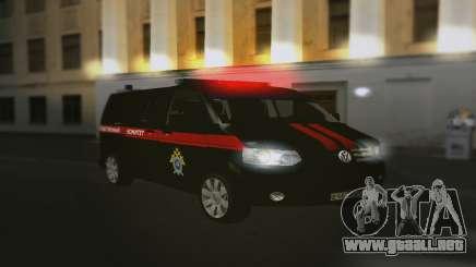 Volkswagen Transporter T5 Comité De Investigación para GTA San Andreas