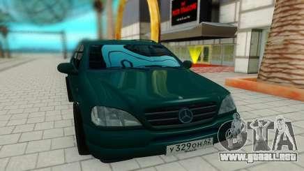 Mersedes-Benz ML 230 para GTA San Andreas