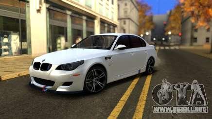 BMW M5 E60 Full Tunable para GTA San Andreas