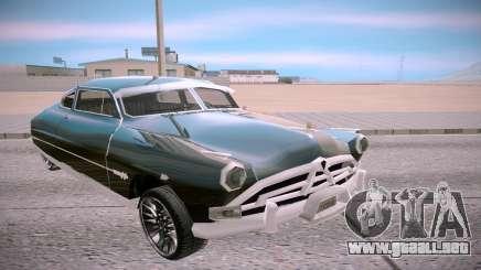 Hudson Hornet Club Coupe 51 para GTA San Andreas