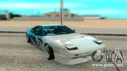 Nissan 240SX blanco para GTA San Andreas