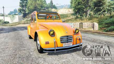Citroen 2CV v1.2 [replace] para GTA 5