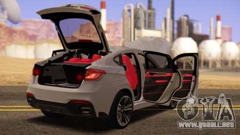 BMW X6 50D para la visión correcta GTA San Andreas