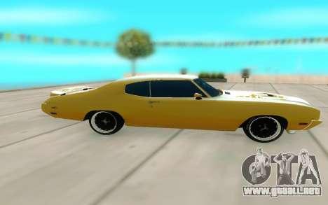 1970 Buick GSX V10 para GTA San Andreas left