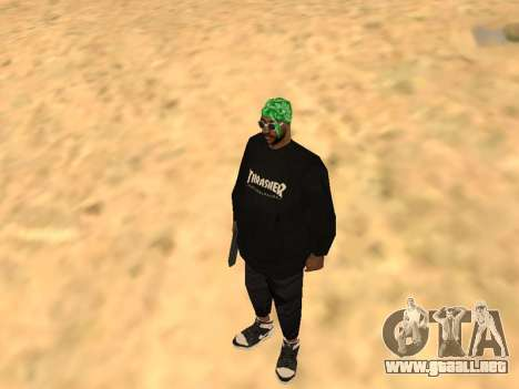 Fam1 Thrasher Worldwide para GTA San Andreas