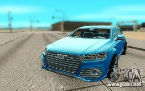 Audi Q7 ABT para GTA San Andreas