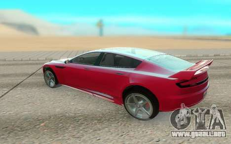 GTA V Coil Raiden para GTA San Andreas vista posterior izquierda