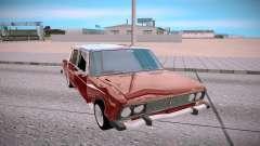 VAZ 2106 rojo para GTA San Andreas