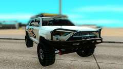 Toyota FJ Cruiser 4 Runner para GTA San Andreas