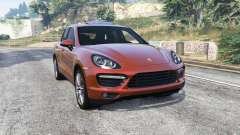 Porsche Cayenne Turbo (958) 2012 [replace] para GTA 5