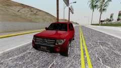 Mitsubishi Pajero SA Plate para GTA San Andreas